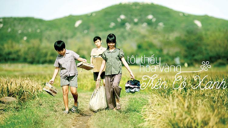 """""""Tôi thấy hoa vàng trên cỏ xanh"""" là phim chuyển thể thành công từ tiểu thuyết cùng tên của Nguyễn Nhật Ánh."""
