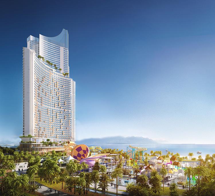"""Cùng với SunBay Park Hotel & Resort Phan Rang, các dự án """"All-in-one"""" khác của Crystal Bay và đối tác sẽ lần lượt khởi tạo tại Ninh Thuận"""