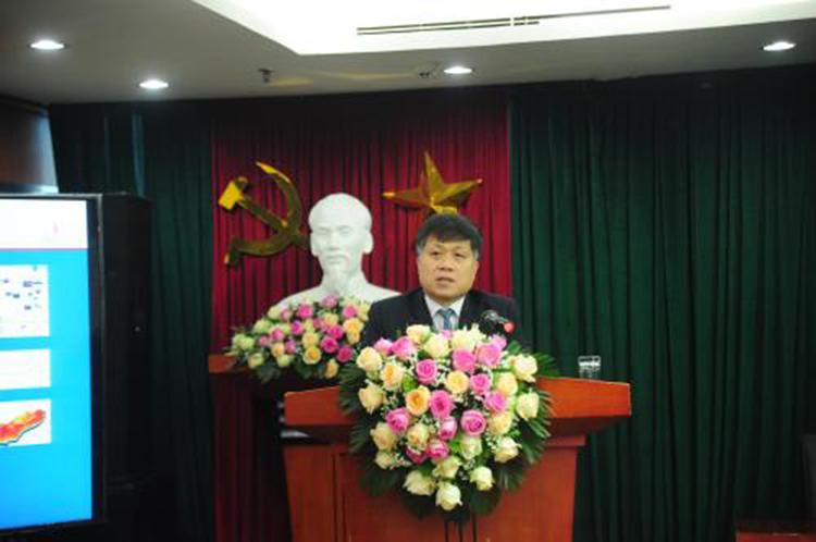 Tiến sĩ Phan Ngọc Trung, Thành viên Hội đồng Thành viên PVN phát biểu chỉ đạo Hội nghị.