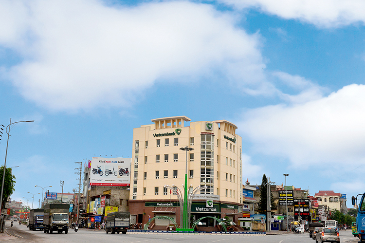 Thành phố Chí Linh có nhiều lợi thế để có thể phát triển thành một thành phố văn minh, hiện đại.    Ảnh: Trube.
