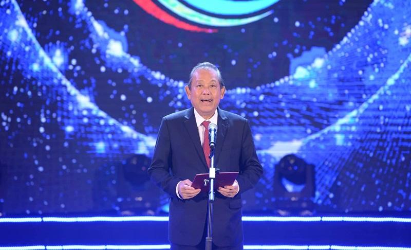 Phó Thủ tướng Trương Hòa Bình phát biểu