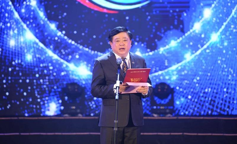 Tổng Giám đốc Đài TNVN Nguyễn Thế Kỷ phát biểu khai mạc