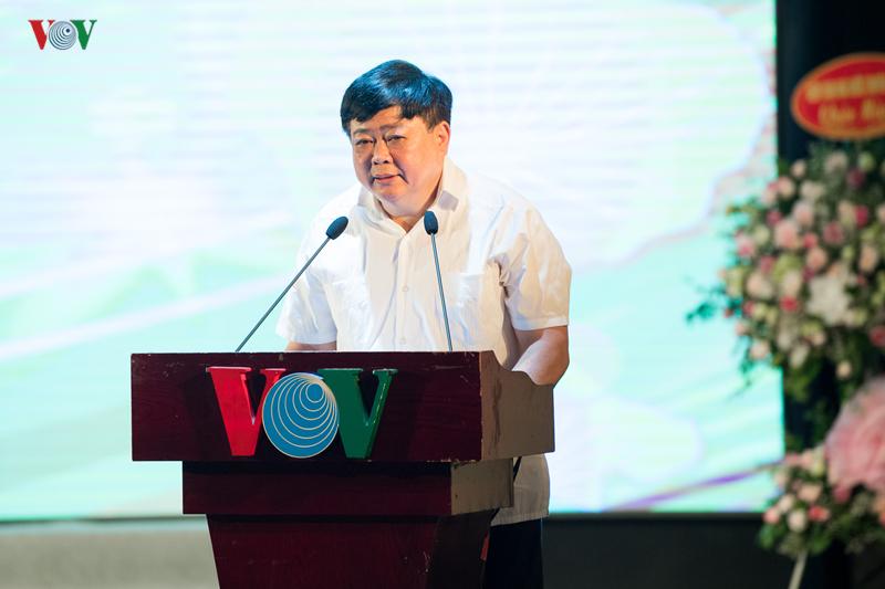 Tổng Giám đốc Nguyễn Thế Kỷ gửi lời chúc sức khỏe, hạnh phúc và thành công tới các thế hệ cán bộ, nhân viên của Đài TNVN- những người đã đặt nền móng cho sự phát triển vững mạnh của Đài TNVN hôm nay.