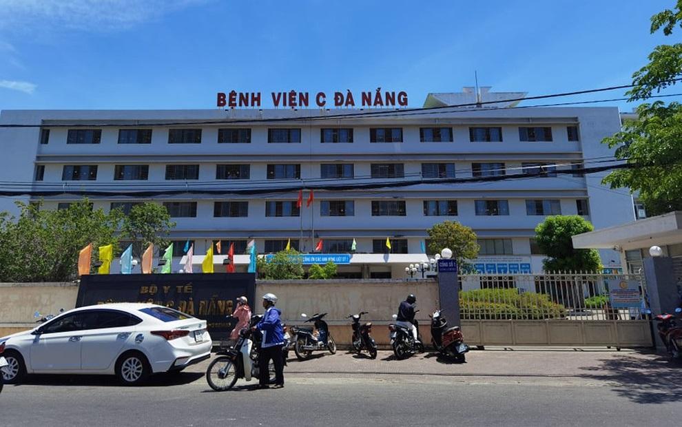 Bệnh viện C Đà Nẵng, nơi bệnh nhân đến khám và phát hiện dương tính với virus Sars-CoV-2