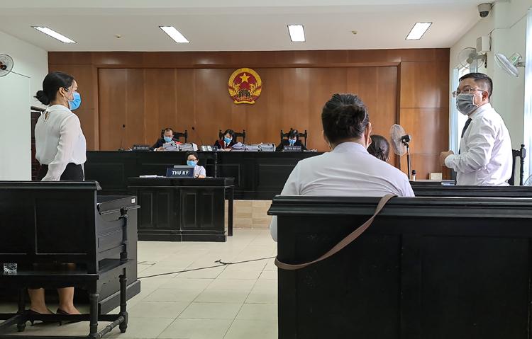 Tòa Q7, TPHCM xét xử vụ kiện Hòa Lân gây nhiều tranh cãi, bất thường... Ảnh PV