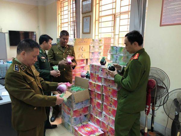 QLTT Hà Giang kiểm tra hàng lậu,hàng giả cuối năm