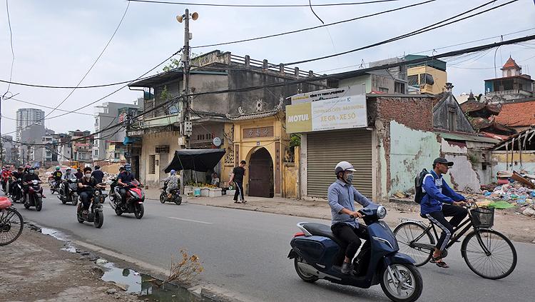 Hiện trạng chùa Diệu Nam tại địa chỉ số 60 phố Đại La, quận Hai Bà Trưng, Hà Nội (Ảnh chụp ngày 28/10/2020). Ảnh: T.C
