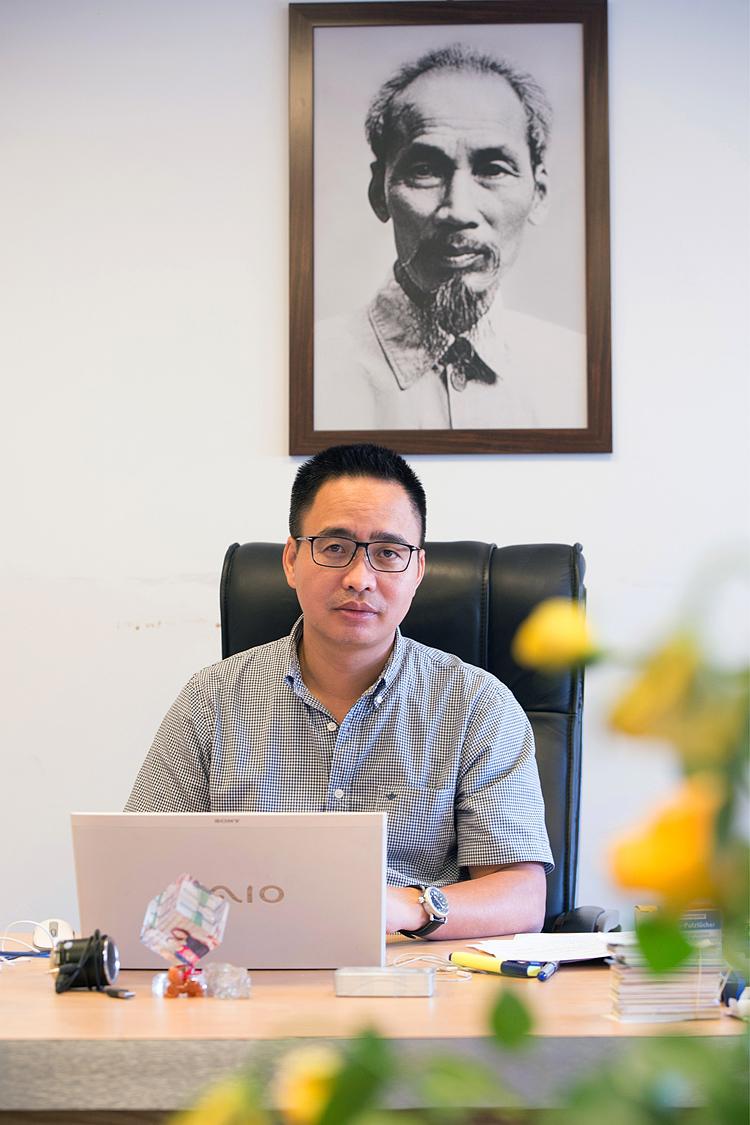 Nhà báo Phạm Mạnh Hùng, Tổng biên tập Báo điện tử VOV.