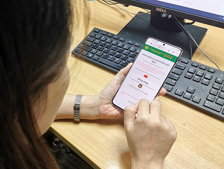 Khai báo qua app sẽ tạo điều kiện thuận lợi cho người dân.