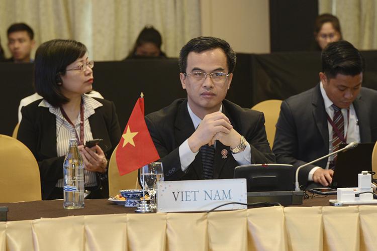 Ông Vũ Nhữ Thăng tham dự Hội nghị Bộ trưởng Tài chính ASEAN 2019 tại Chiềng Rai, Thái Lan vào tháng 4/2019.