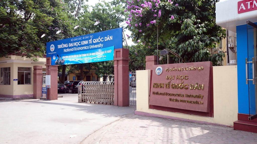 Đại học Kinh tế Quốc dân - một địa chỉ đào tạo có qui mô và uy tín hàng đầu. Ảnh:KT