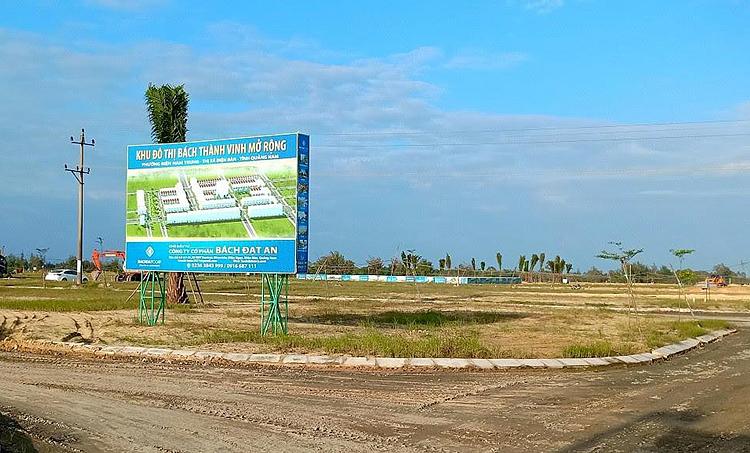Nhiều lô đất KĐT Bách Thành Vinh mở rộng đã được bán cho khác hàng khi chưa đủ điều kiện pháp lý.