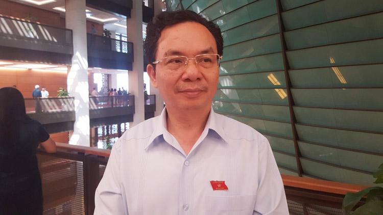 Đại biểu Hoàng Văn Cường, đoàn Hà Nội.