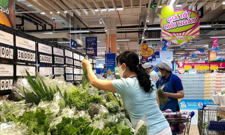 Thực phẩm luôn tươi ngon tại các siêu thị, cửa hàng tiện ích.