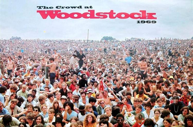 Liên hoan âm nhạc và nghệ thuật Woodstock 1969, làm cho huyền thoại về sự kiện âm nhạc này càng thêm huyền bí và cuốn hút hậu thế (nguồn ảnh: KT)