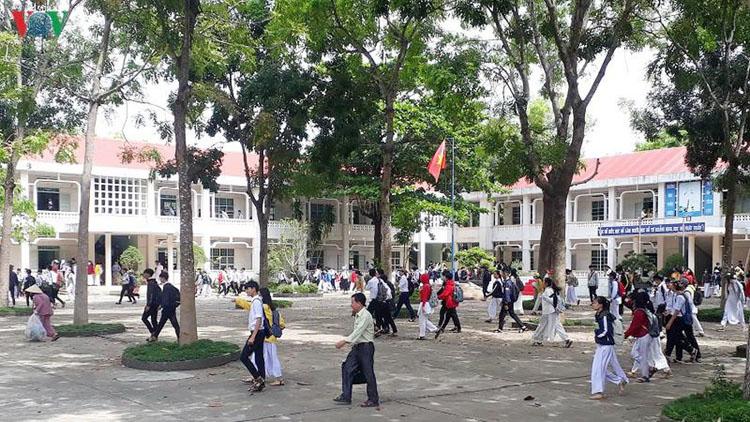 Trường Trung học phổ thông chuyên Trần Hưng Đạo sẵn sàng cho kỳ thi sắp tới.