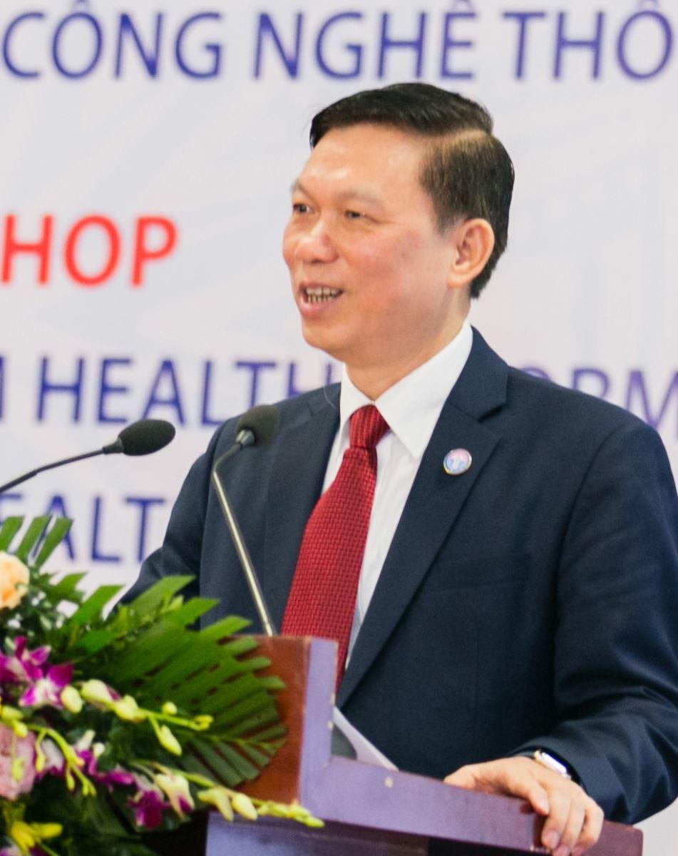 PGS.TS Trần Quý Tường, Cục trưởng Cục Công nghệ thông tin, Bộ Y tế.