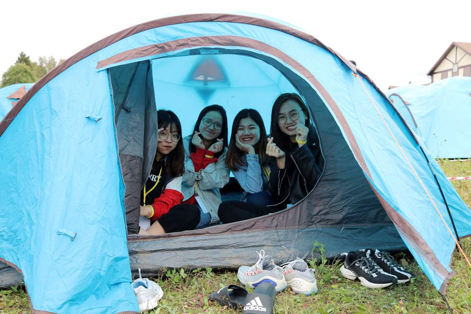 Bảo Ngọc tham gia hội trại Obninsk summer camps 2019.