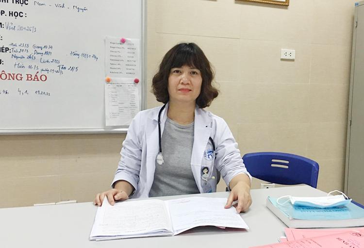 Ths.Bs Nguyễn Thị Hồng Nhân, Trưởng khoa Nhi tiêu hóa, dinh dưỡng, truyền nhiễm, Bệnh viện Xanh Pôn (Hà Nội).