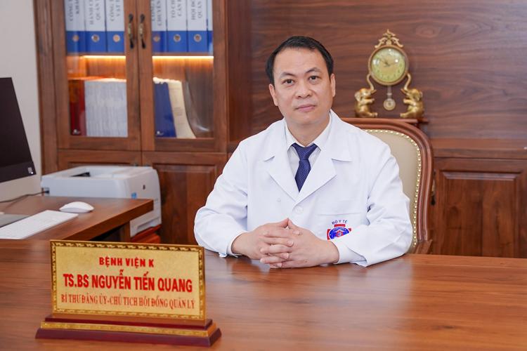 TS.BS Nguyễn Tiến Quang, Chủ tịch Hội đồng quản lý Bệnh viện K