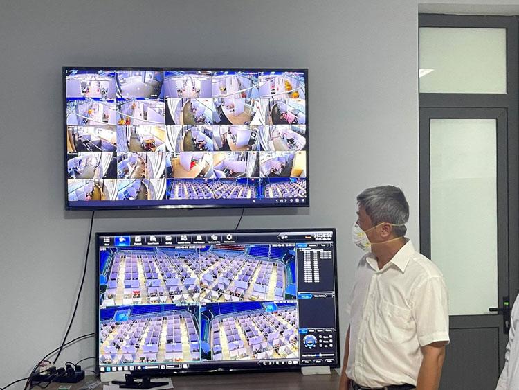 Thứ trưởng Nguyễn Trường Sơn chỉ đạo việc thiết lập Trung tâm ICU lớn nhất miền Bắc tại BV Tâm thần tỉnh Bắc Giang.
