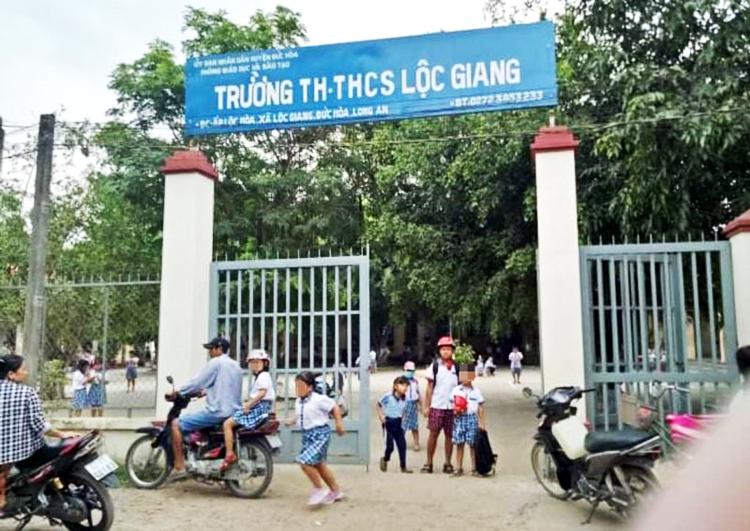 Trường TH-THCS Lộc Giang. (nguồn: Lao động)
