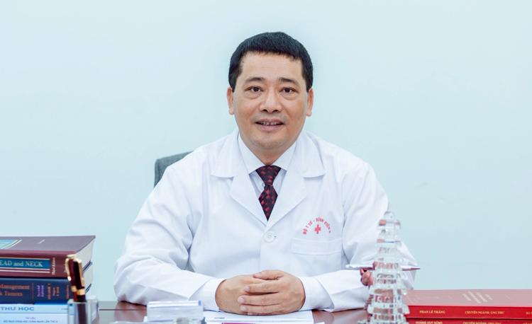 PGS.TS Lê Văn Quảng, Giám đốc Bệnh viện K.