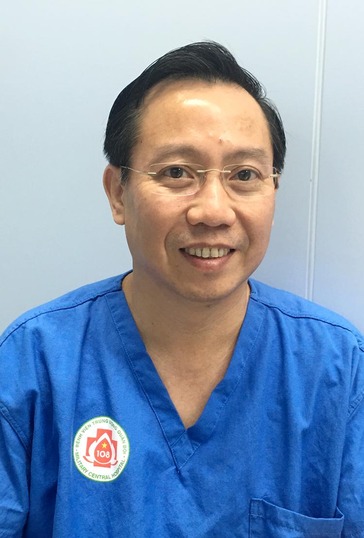 PGS.TS Nguyễn Anh Tuấn, Phó viện trưởng Viện phẫu thuật, Chủ nhiệm khoa Phẫu thuật ống tiêu hóa, Bệnh viện TƯQĐ 108.