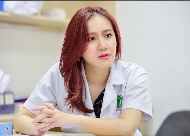 Bác sĩ Nguyễn Hồng Nhung, khoa Phẫu thuật và Tạo hình hàm mặt, Bệnh viện Răng hàm mặt Trung ương.