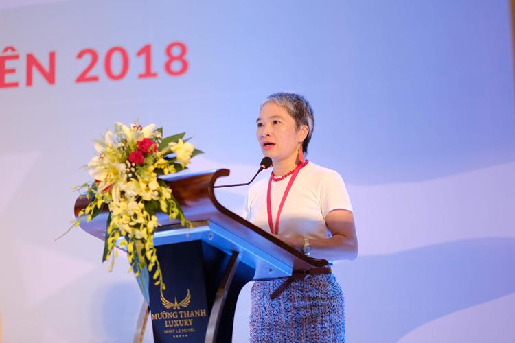 Bác sĩ Khuất Thị Hải Oanh, Giám đốc Trung tâm Hỗ trợ sáng kiến phát triển cộng đồng (SCDI).