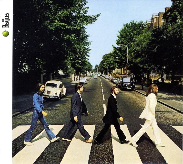 ban nhạc The Beatles bao gồm 4 thành viên John Lennon, Ringo Starr, George Harrison và Paul McCartney. (ảnh: KT)