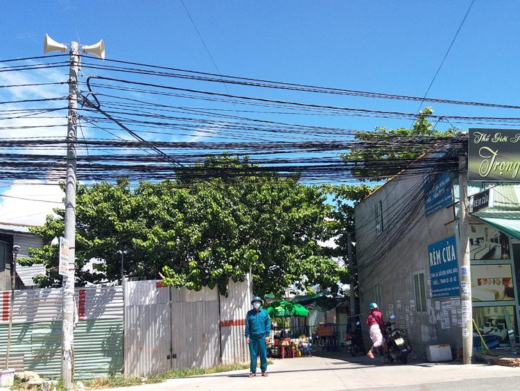 Hệ thống loa truyền thanh tại các khu dân cư.