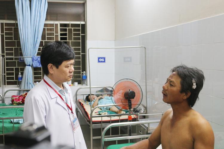 Anh Đặng Văn Tặng kể lại sự việc.