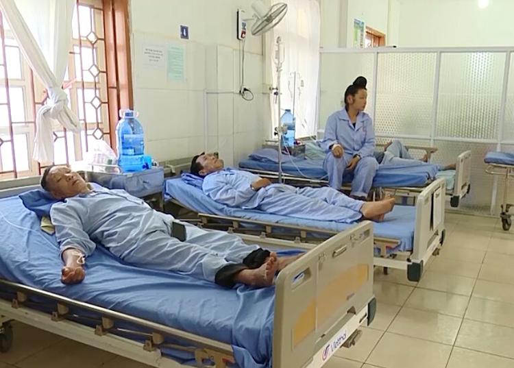 Có 6 bệnh nhân được điều trị tại bệnh viện đa khoa tỉnh Sơn La.
