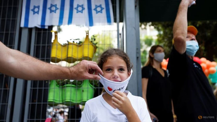 Học sinh tại trường Tiểu học Arazim ở Tel Aviv, Israel. (Ảnh: Reuters)