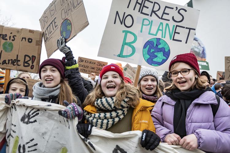 Phong trào Fridays for Future được hưởng ứng ở khắp nơi trên thế giới. (Ảnh: internet)
