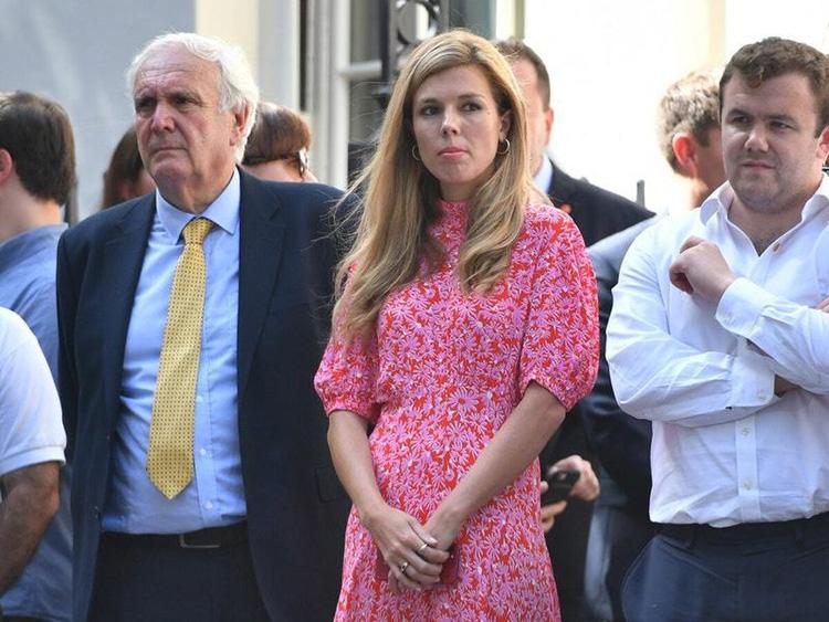 Ông Boris Johnson và bạn gái Carrie Symonds (Ảnh: Getty Images)