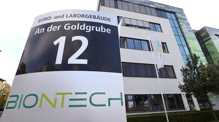 Trụ sở sở Công ty BioNTech tại Mainz, Đức. (Ảnh: Reuters)