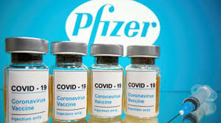 vaccine COVID-19 Pfizer/ BioNTech. (Ảnh: T.L)