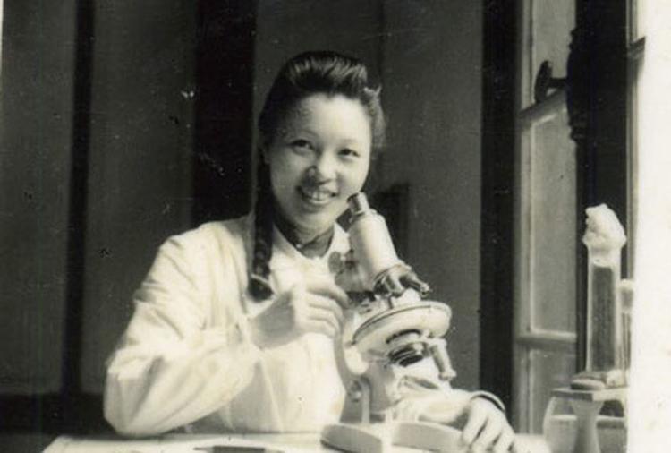 Bà Vi Kim Ngọc trong những năm kháng chiến.