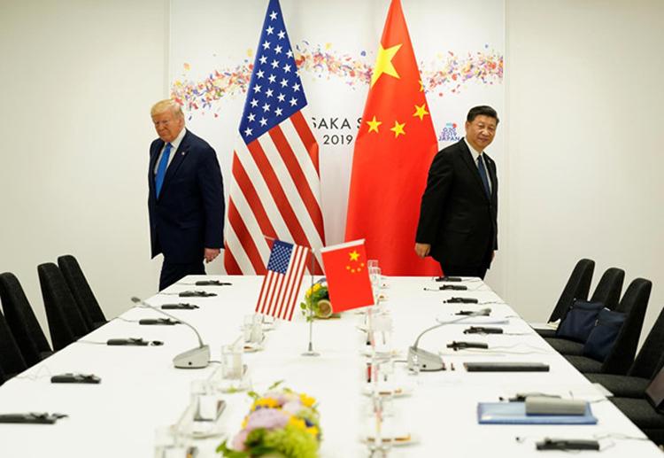 Bất hòa giữa Mỹ và Trung Quốc thêm căng thằng. (Ảnh: KT)