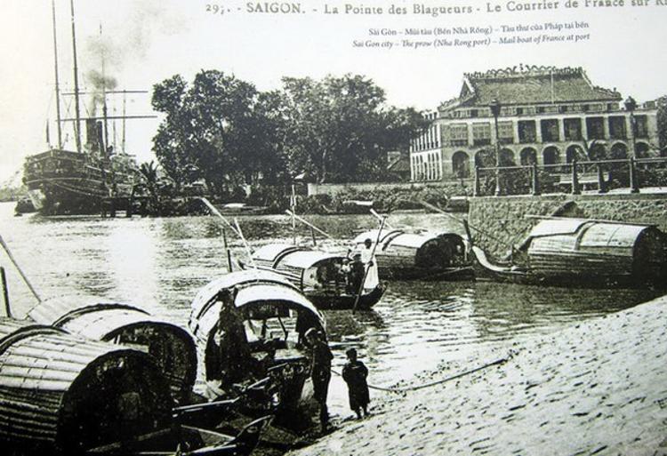 Bến cảng Nhà Rồng, nơi Bác Hồ ra đi tìm đường cứu nước. (Ảnh tư liệu)