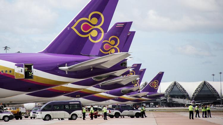 Thai Airways đứng trước bờ vực phá sản do chịu ảnh hưởng nặng nề từ đại dịch Covid-19. (Nguồn: Nikkei Asian Review).