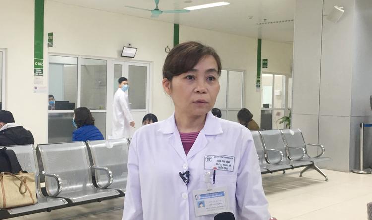 BSCKII Lại Thanh Hà, Trưởng khoa Khám bệnh, Bệnh viện Thanh Nhàn.