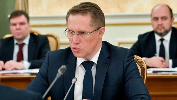 Bộ trưởng Y tế Nga. (Ảnh: AP)