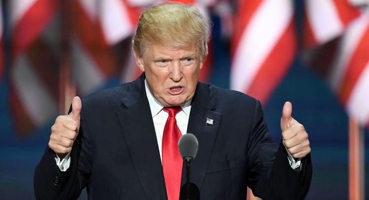 Chiến thắng của ông Trump trong cuộc bầu cử sơ bộ đầu tiên. (Ảnh: internet)