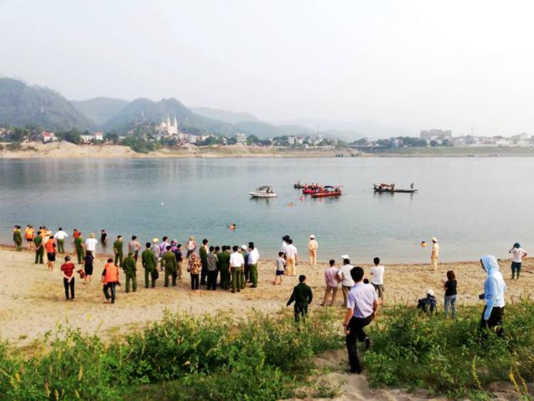Hiện trường vụ tai nạn đuối nước (ảnh: internet)