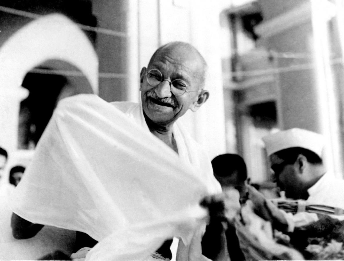 Mahatma Gandhi là một trong những vị lãnh tụ tinh thần của nhân dân Ấn Độ (ảnh: KT)