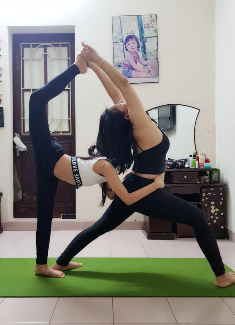 Việc tập luyện thông qua yoga sẽ giúp bạn cân bằng và nuôi dưỡng tinh thần.