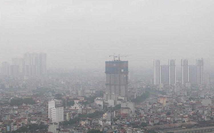 Những ngày vừa qua chất lượng không khí ở Hà Nội và miền Bắc xuống rất thấp.